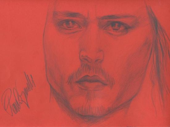 Johnny Depp by pamelasea